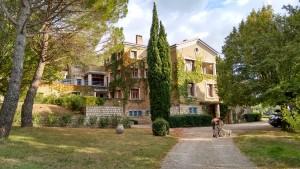 Main entrance - Gîtes et Chambres d'hôtes - Les Terrasses du Soleil