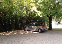 Parking - Gîtes et Chambres d'hôtes - Les Terrasses du Soleil