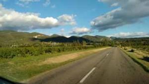 Route Provence - Gîtes et chambres d'hôtes Les Terrasses du Soleil