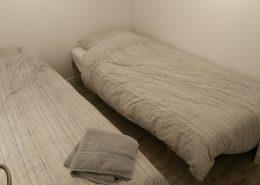 lits simples ch3 gîte les Truffes