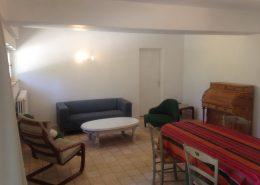 Salon Gîte Cyprès - Gîtes et Chambres d'hôtes - Les Terrasses du Soleil