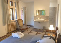 Chambre Lavande - Gîtes et Chambres d'hôtes - Les Terrasses du Soleil