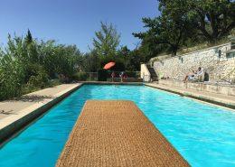 Plongeoir Piscine 20m - Gîtes et Chambres d'hôtes - Les Terrasses du Soleil