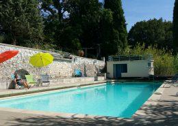 Piscine - Gîtes et Chambres d'hôtes - Les Terrasses du Soleil
